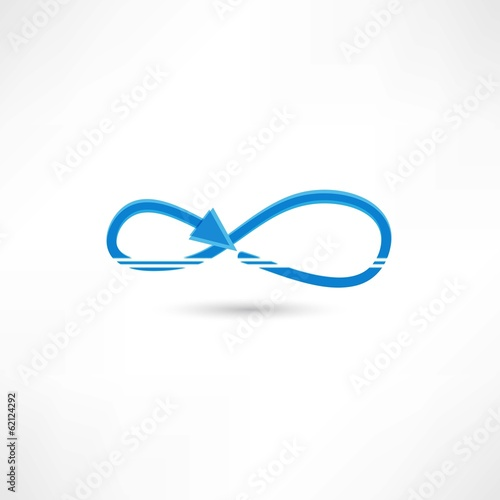 blue infinite icon