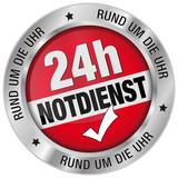 24h Notdienst - Rund um die Uhr