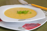 creamy soup with fennel