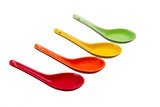 Colored spoons