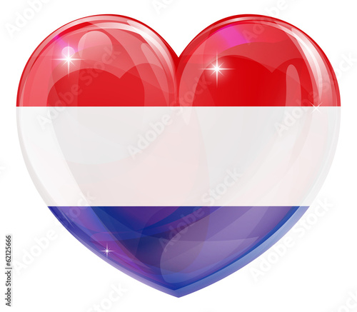 Netherlands love heart