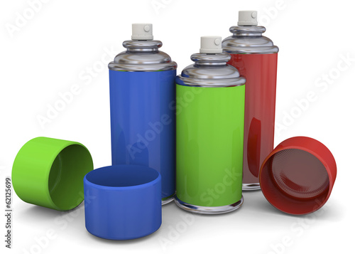 Color Spray - 3D