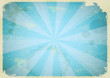 Vintage abstract background in blue