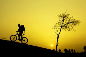 bisiklet gezisi&güneş doğarken