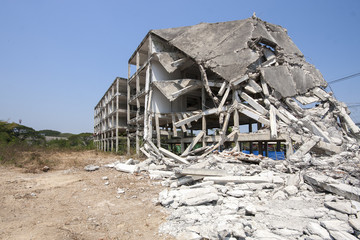 Destroy building