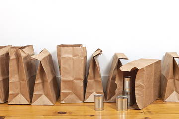 Brown Bags and Tin Cans