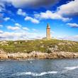 Hercules tower (lighthouse), La Coruña, Galicia, Spain, UNESCO