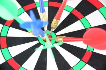 Darts on Target.