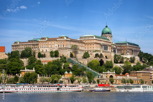 Poster Buda Castle in Budapest