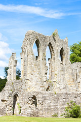 ruins of Bayham Abbey, Kent, England