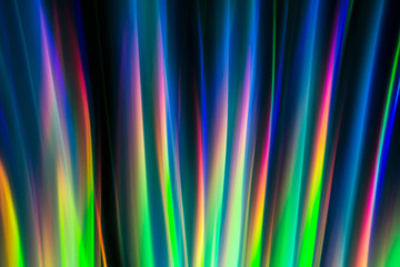 Abstract light-painting