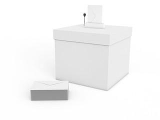 Urne élections municipales 2014