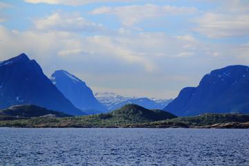 The shores of Meløyfjord