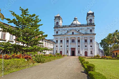 Church of St. Cajetan; Goa, India