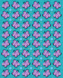 Butterfly Tablecloth Aqua