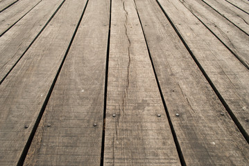 old wood floor