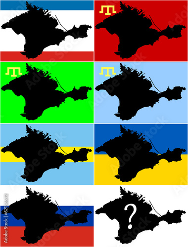 What flag now Crimea
