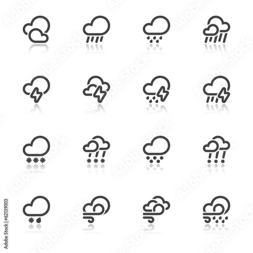 Bad weather symbols