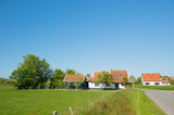 Village Oosterend on Dutch Texel