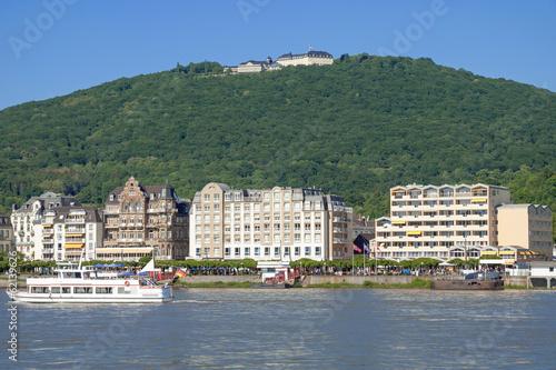 canvas print picture Königswinter am Rhein nahe dem Drachenfels