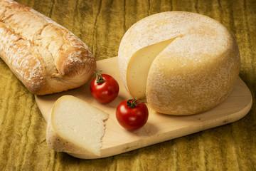 Käse angeschnitten