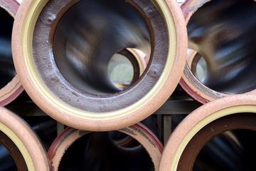 Kanalrohre aus Steinzeug