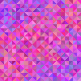 Abstract background from triangles in shades of violet and pink