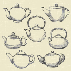 teapots antique