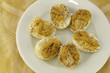 Six Deviled Eggs
