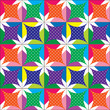 Colorful patchwork,seamless pattern