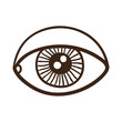 Eye rough symbol.