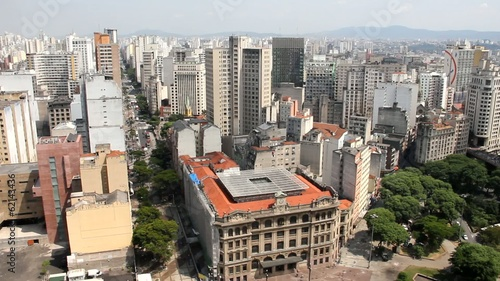 Sao Paulo, the biggest city in Brazil
