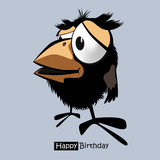 Happy Birthday birds