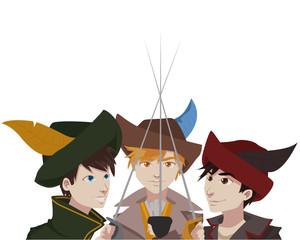 musketeers