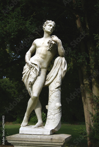 statue of a young man