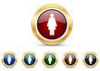female icon vector set
