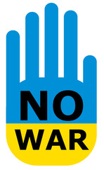 No war Ukraine