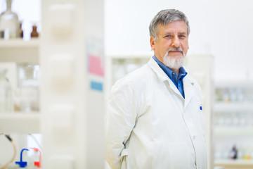 Senior male researcher