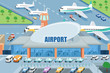 Airport on the outside - 62148621