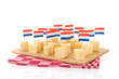Dutch cheese cubes