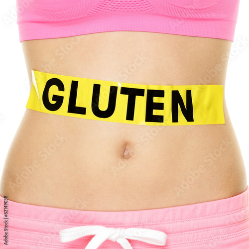 Gluten allergy, health and Celiac disease concept