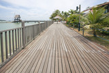 Changi Point Boardwalk in Singapore