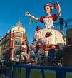 Leinwanddruck Bild - Reine du carnaval de nice