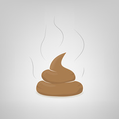 Vector poop illustration