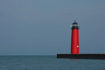 Kenosha Pier Lighthouse