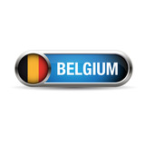 Belgium Flag Vector Icon