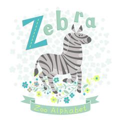 Letter Z - Zebra