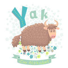 Letter Y - Yak