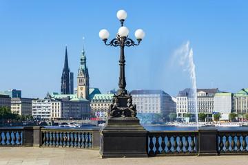 Lombardsbrücke Hamburg