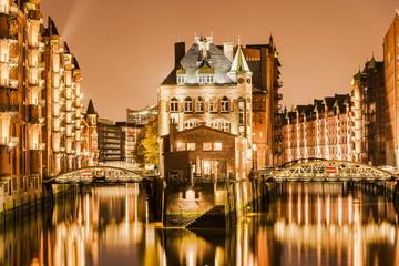 Hamburg Speicherstadt - Wasserschlösschen